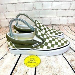 VANS Checkerboard Slip-On Sneakers Women 5.5/Men 4